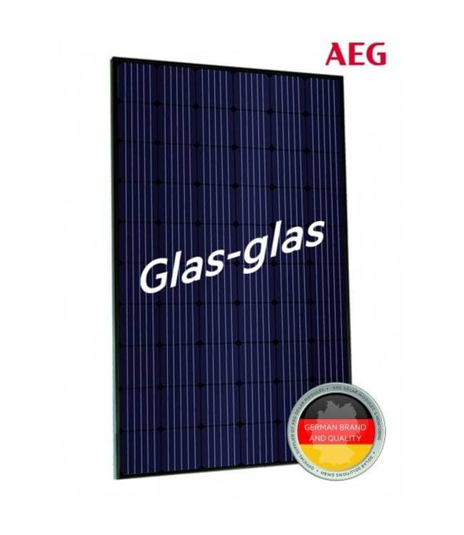 AEG 330Wp Glas-Glas Mono Full Black
